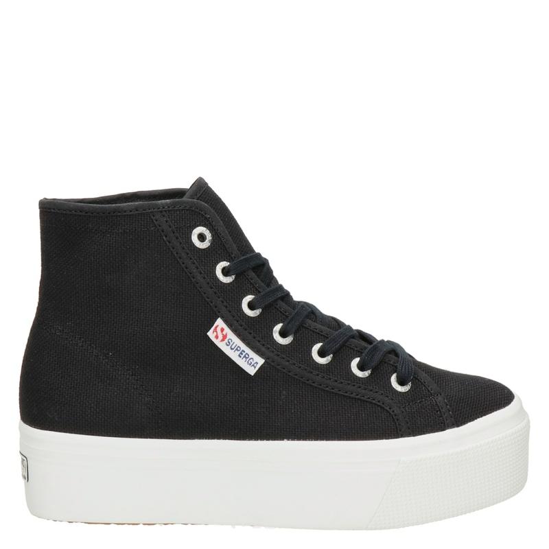 Superga - Hoge sneakers - Zwart