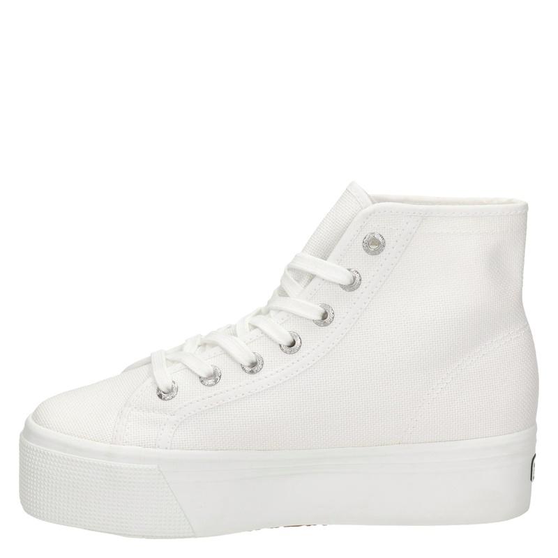 Superga - Hoge sneakers - Wit