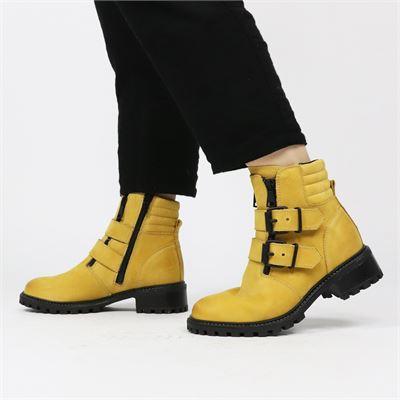 PS Poelman dames boots geel
