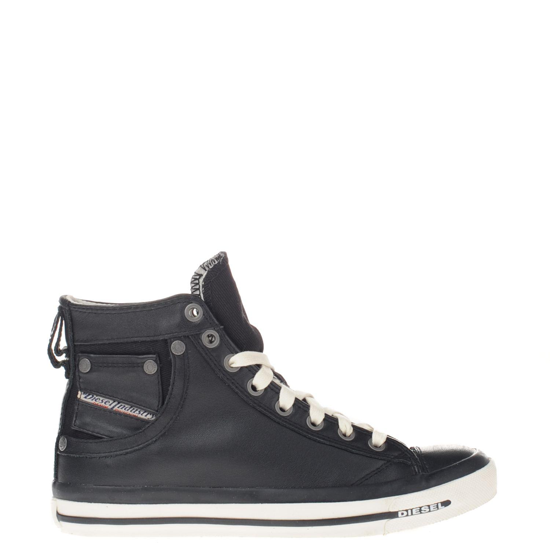 Chaussures De Sport Diesel Noir BZErhCQLQ