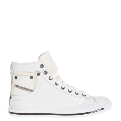 Diesel dames sneakers wit