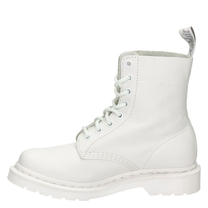 Dr. Martens 1460 Pascal Virginia Mono - Veterboots - Wit