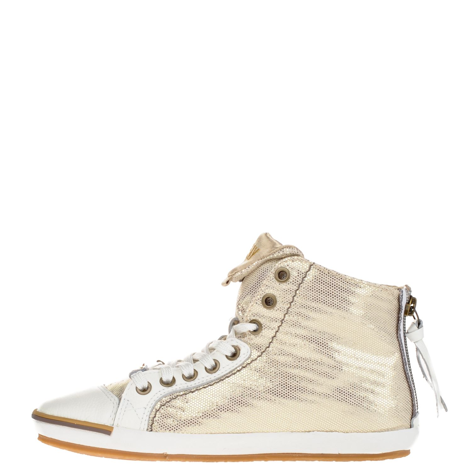 160d57e7a9f Replay dames hoge sneakers goud
