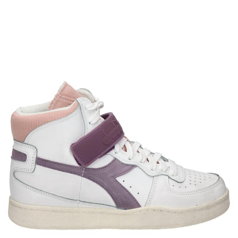 Diadora Mi basket mid icona - Hoge sneakers - Wit