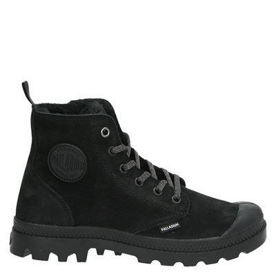 Palladium dames boots zwart