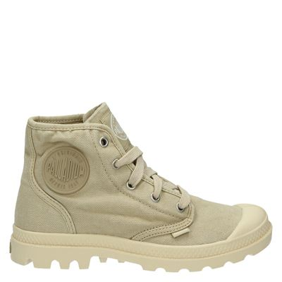 Palladium dames sneakers beige