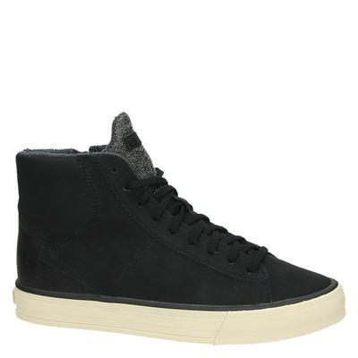 Esprit dames hoge sneakers Zwart