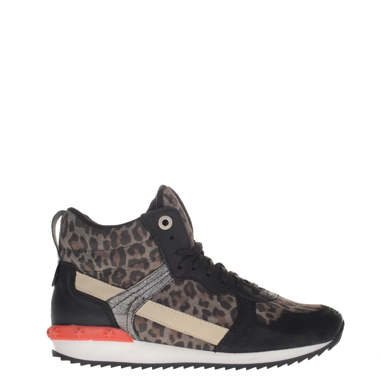 premium selection ce0da 35454 Poelman dames hoge sneakers