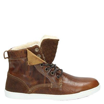 Nelson dames sneakers cognac