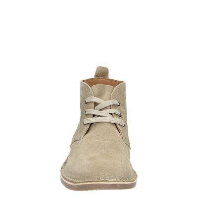 PS Poelman dames veterschoenen Beige
