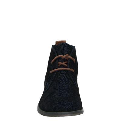 Nelson dames veterschoenen Blauw