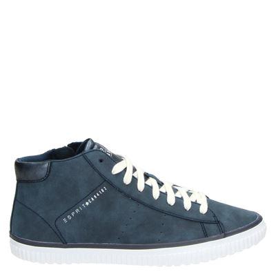 Esprit dames sneakers blauw