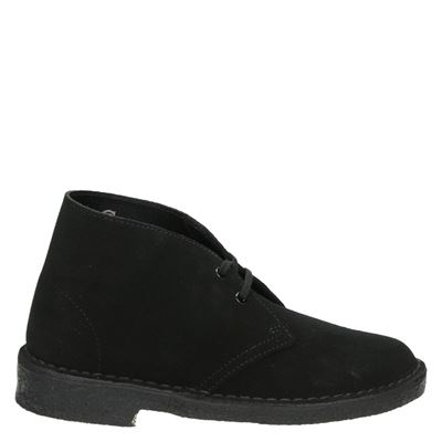 Clarks Originals dames veterboots zwart