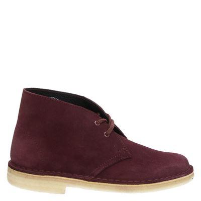 Clarks Originals dames boots rood