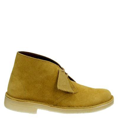 Clarks Originals dames boots geel