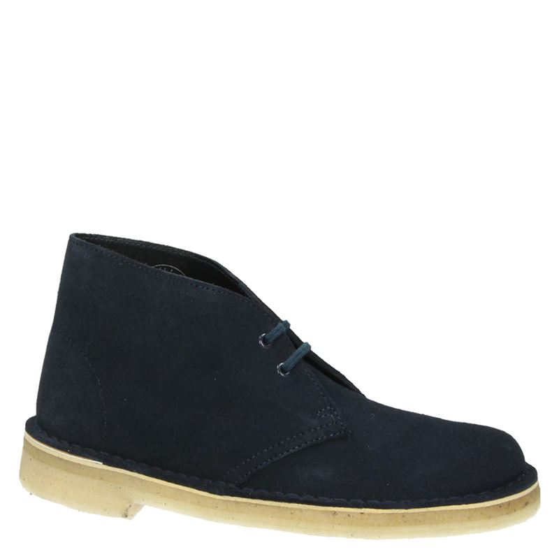 Clarks Originals Desert Boot - Veterschoenen - Blauw