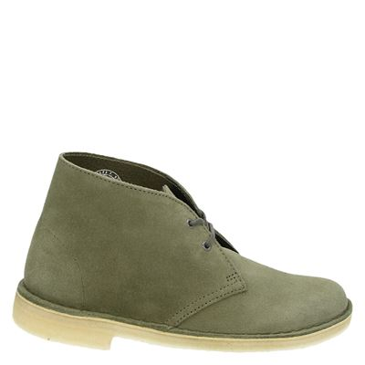 Clarks Originals dames veterboots groen
