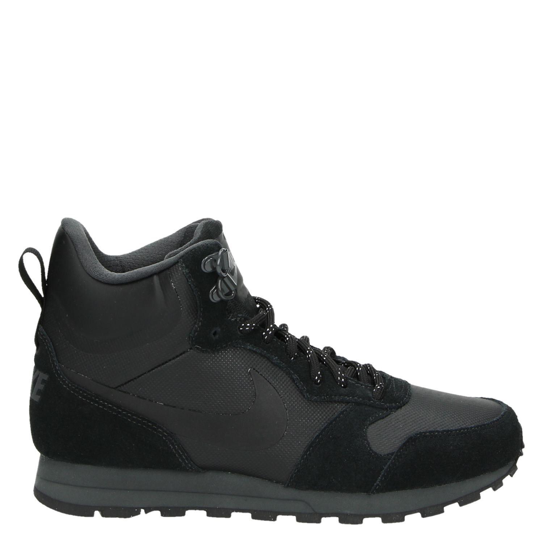 Nike md runner 2 dames hoge sneakers zwart - Service hoog ...