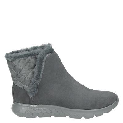 Skechers dames laarzen grijs