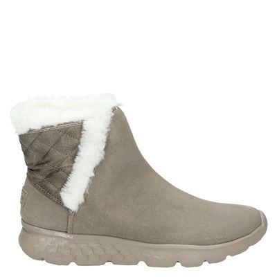 Skechers dames laarzen beige