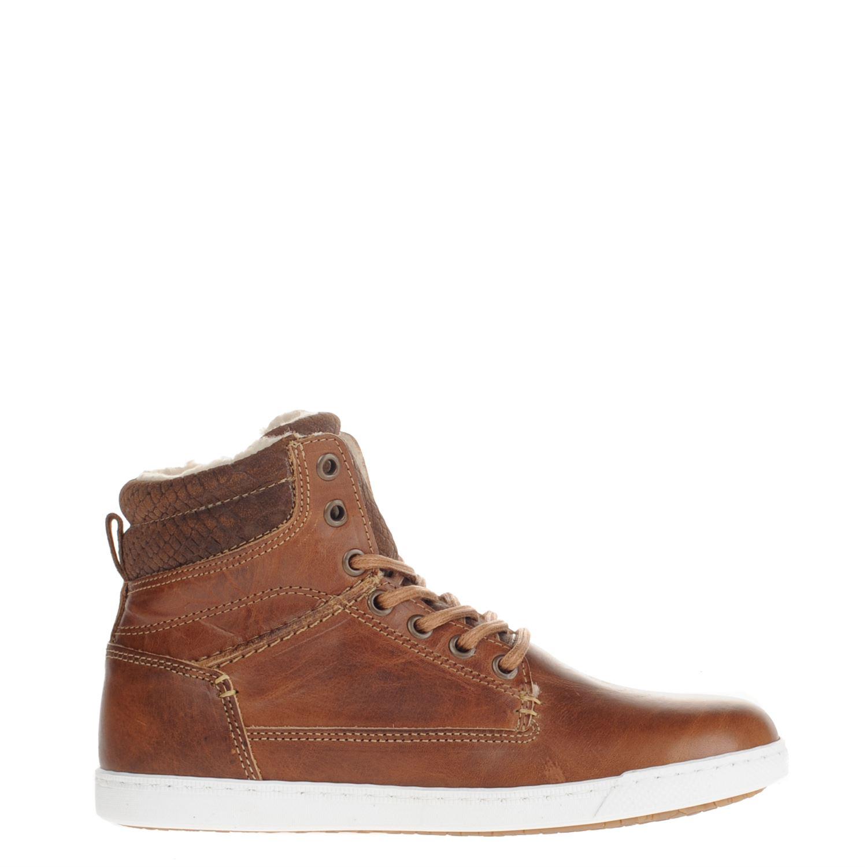Dames Nelson Sneakers Dames Cognac Hoge Nelson qzZvnzCS