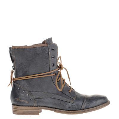 Mustang dames boots grijs