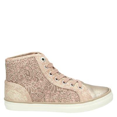 S.Oliver dames veterschoenen roze