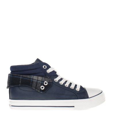 Hobb's dames sneakers blauw