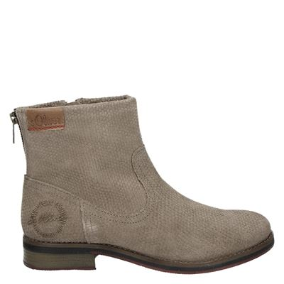 S.Oliver dames boots taupe