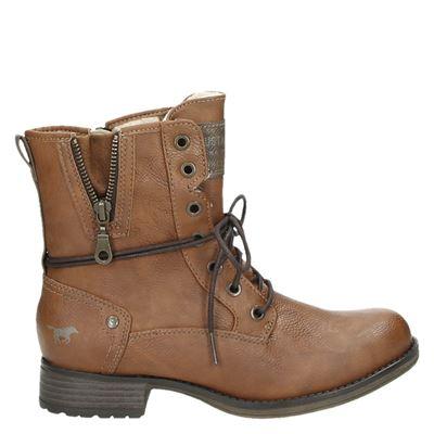 Mustang dames boots cognac