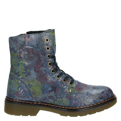 Bullboxer dames boots blauw