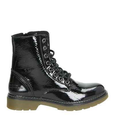 Bullboxer dames boots zwart