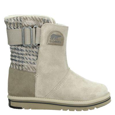 Sorel dames snowboots grijs