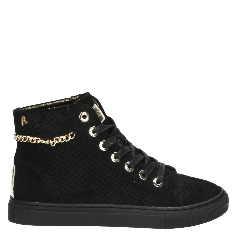 b772e64de32 Replay dames hoge sneakers zwart