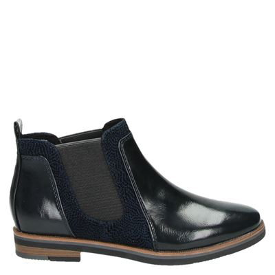 Marco Tozzi dames boots blauw