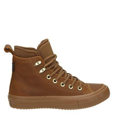 Converse dames boots cognac