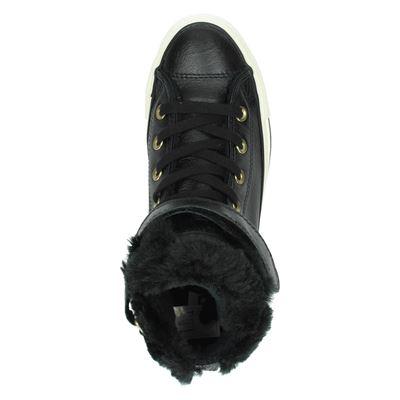 Converse dames hoge sneakers Zwart