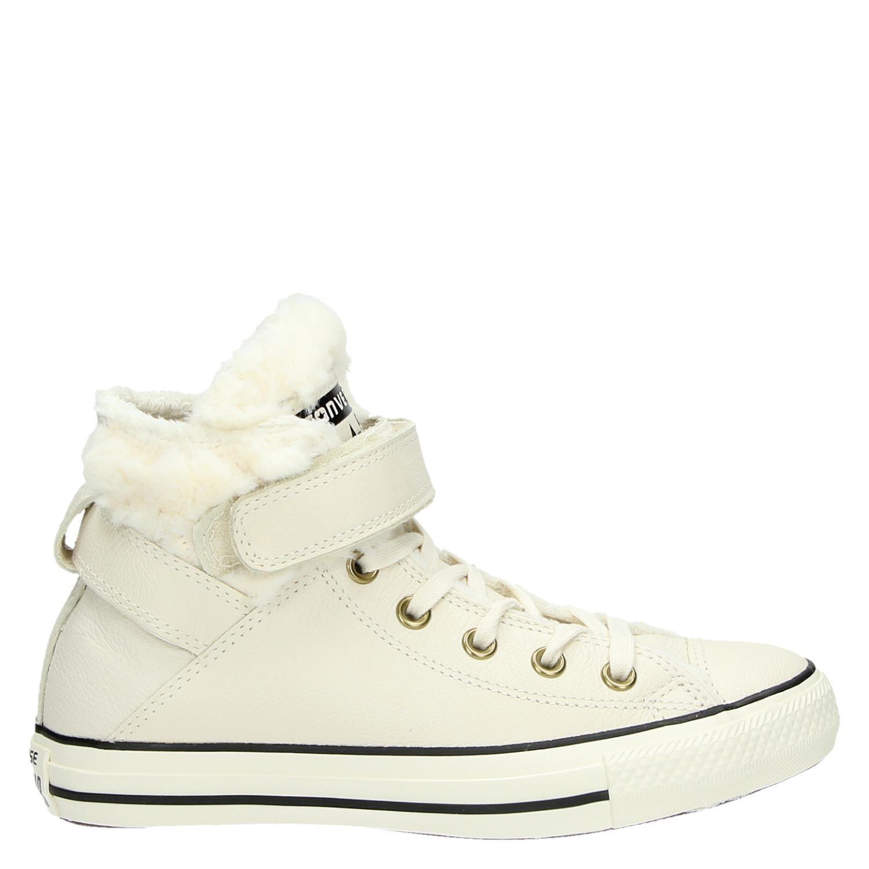 ca1490291d0 Converse dames hoge sneakers wit