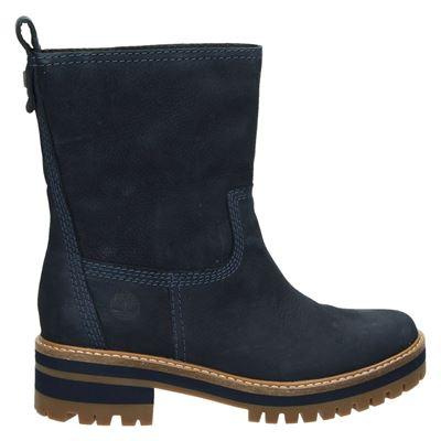 Timberland dames boots blauw
