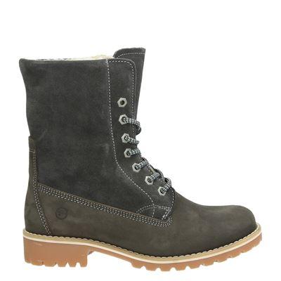 Tamaris dames boots grijs