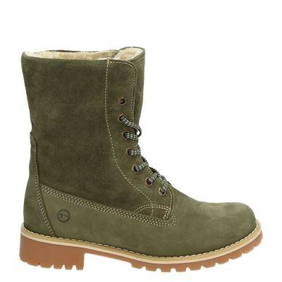 Tamaris dames boots groen