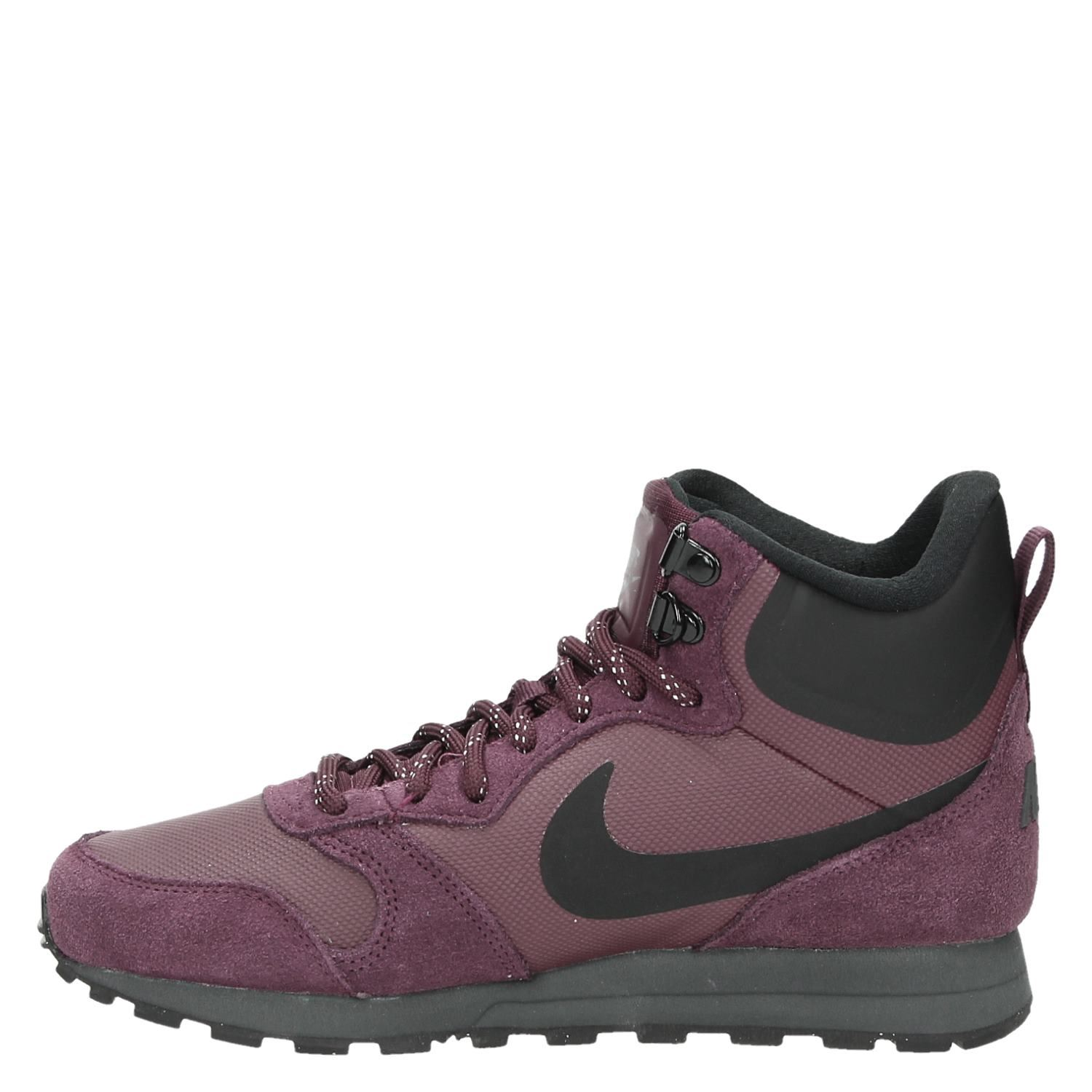 d50a60b1fa9 Nike MD Runner 2 Mid dames hoge sneakers rood