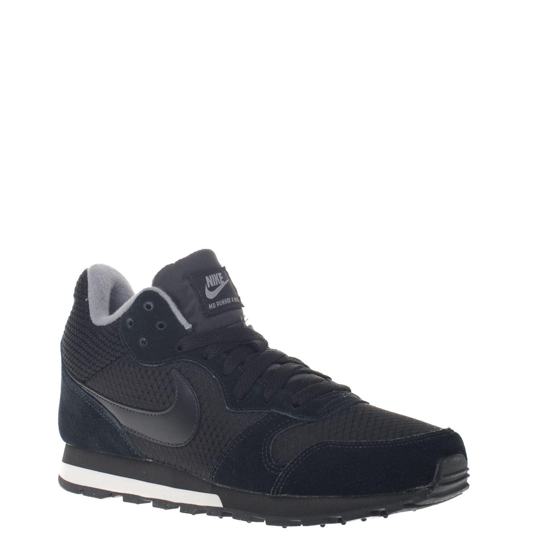 b96d3ae72ea Nike MD Runner 2 dames hoge sneakers zwart