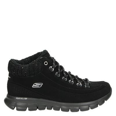 Skechers dames boots zwart