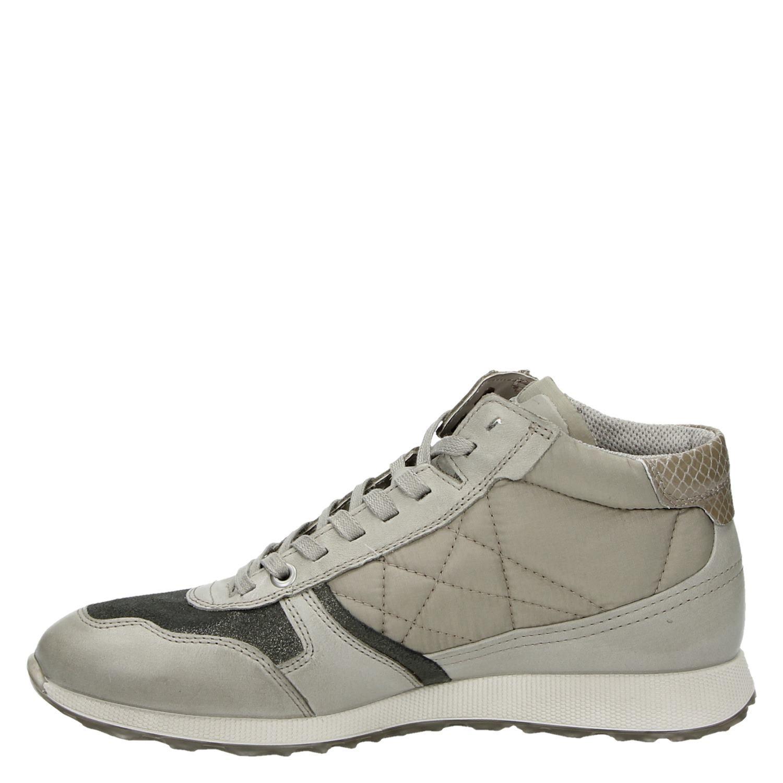 f8772393958 Ecco Ecco Sneak Ladies dames hoge sneakers beige