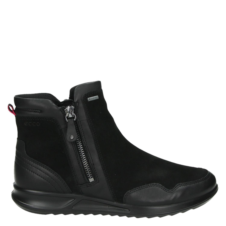 178304b63af8a2 Dames Genna Boots Rits Zwart Ecco Gesloten amp; C74ZW6W