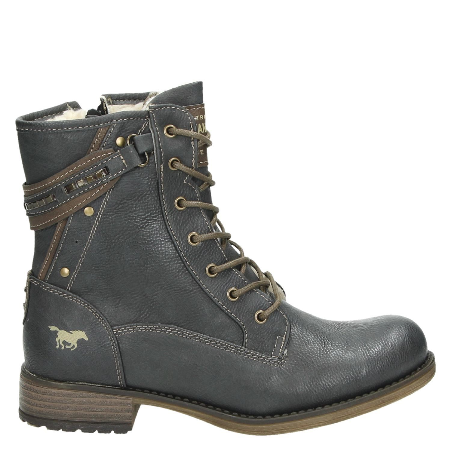 Bottines Mustang Gris lKstMIqWJ