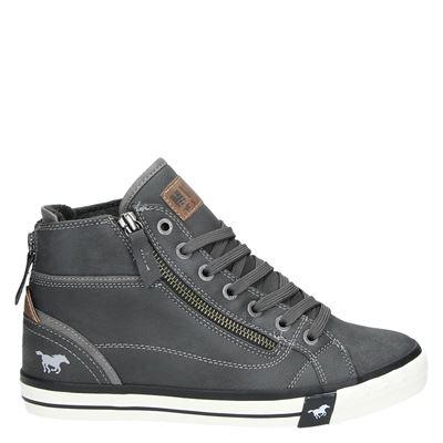 Mustang dames sneakers grijs