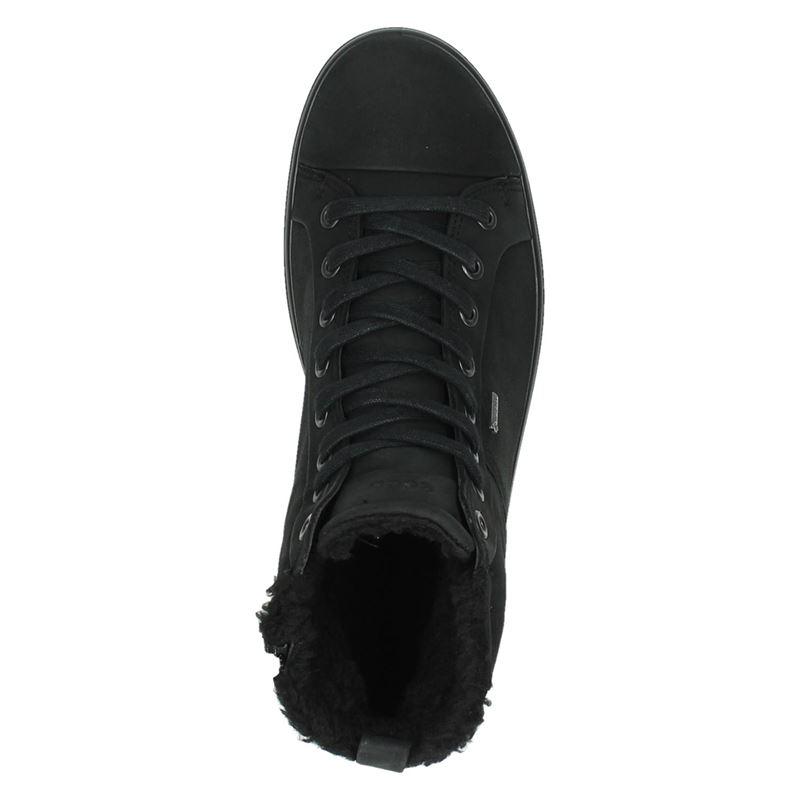 Ecco Soft 7 - Hoge sneakers - Zwart