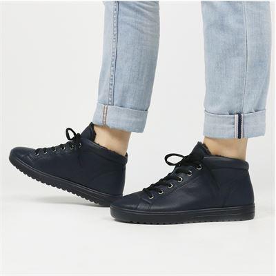 Ecco dames boots blauw